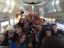 Want to ride the pep bus?