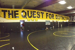Wrestling Room Receives Makeover