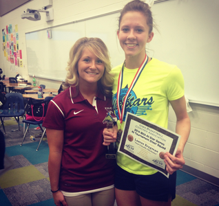 Student Named Most Valuable Cheerleader!