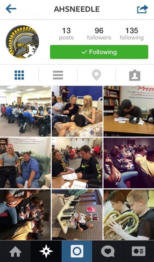 Follow AHSneedle on Instagram!