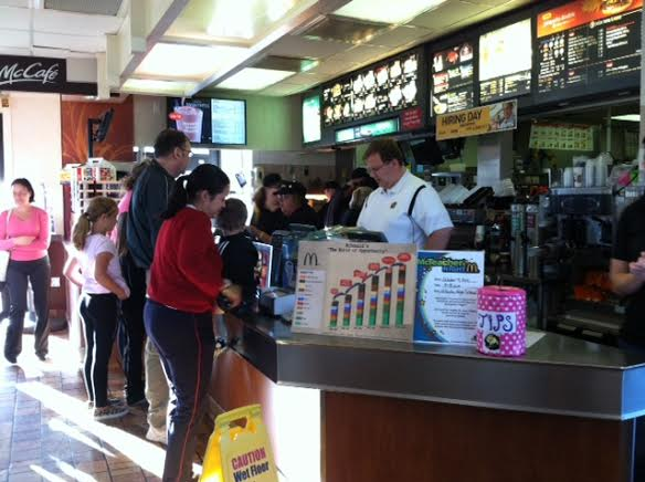 McTeacher Night Hosted at McDonald's