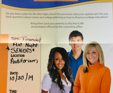 Financial Aid Night for Seniors