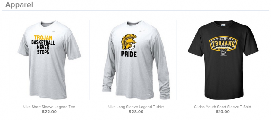 Boys Basketball Apparel Available for Order