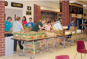 Mobile Food Pantry Comes to AHS Again