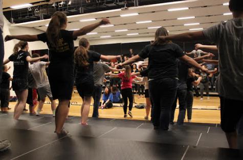 Show Choir Choreography Comes Together