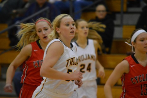 Trojan Girls Fall Against Knights
