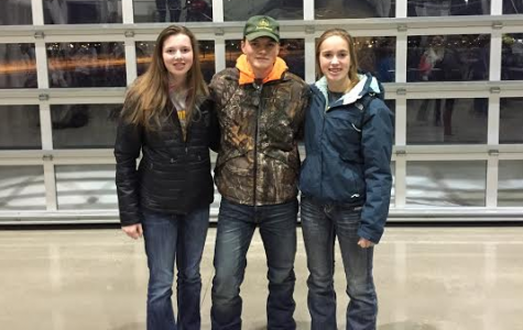 Three FFA Members Attend FFA Leadership Conference
