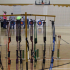 Pictured above is the equipment used for archery.