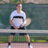 Senior Nick Podhajsky won both his singles and doubles games.