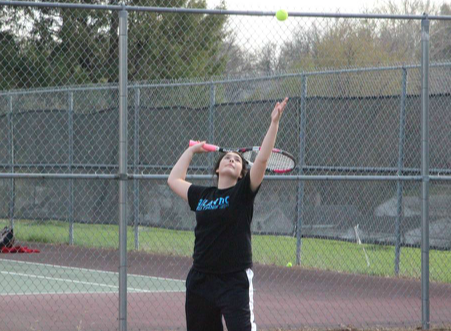 Boys Tennis #1 Player Stays Undefeated