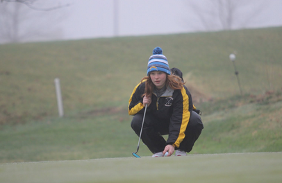 Girls Golf Sweep the Cardinals at Home