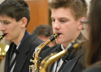 Band Receives Input from Clinician