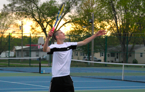 N. Podhajsky Places 2nd at Boys Tennis H-10 Tournament