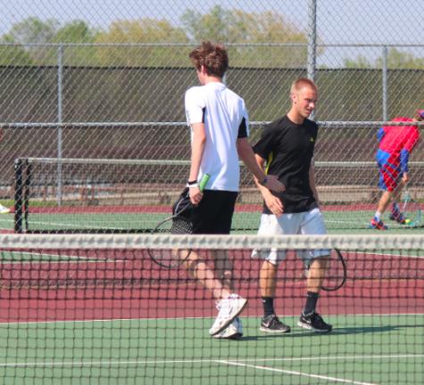 Boys Tennis Advances Towards State