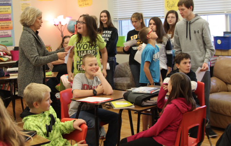 Sixth-graders Meet the Freshmen