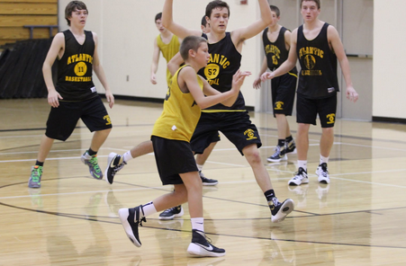 Take a Look at the Freshman Boys' Basketball Team