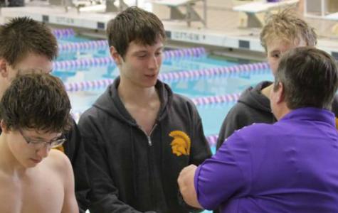 Boys' Swimming Season Begins