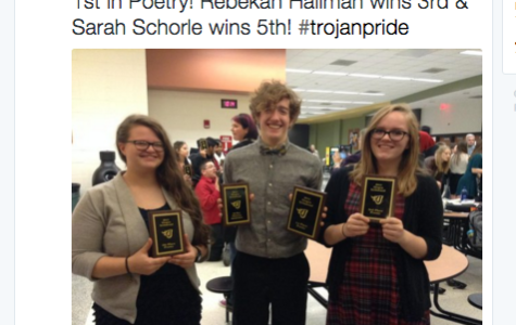 Speech Team Competes at Johnston
