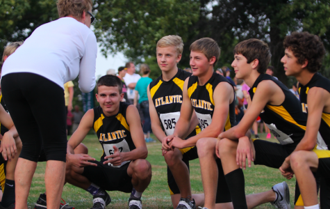 Boys' XC at Carroll