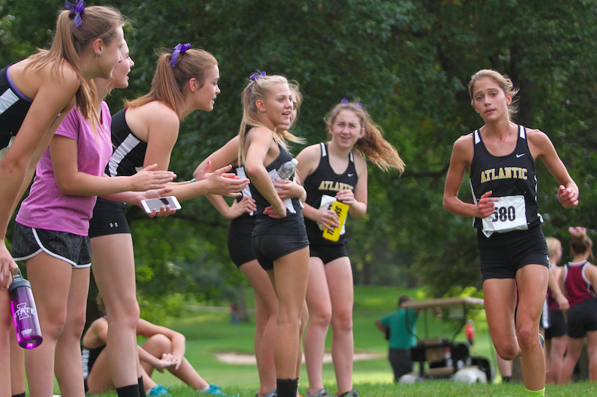 Girl's Cross Country Competes at Harlan
