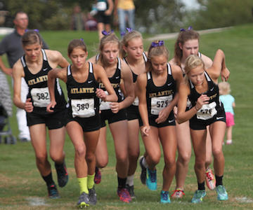 Girls' XC at Shenandoah