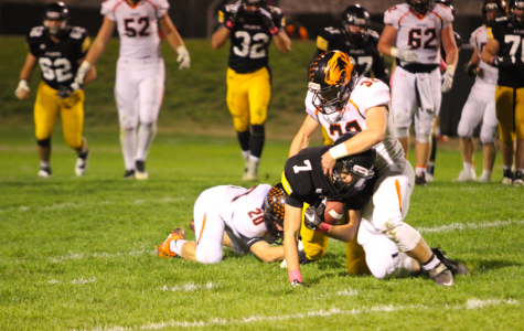Trojans Lose Last Home Game to the Carroll Tigers