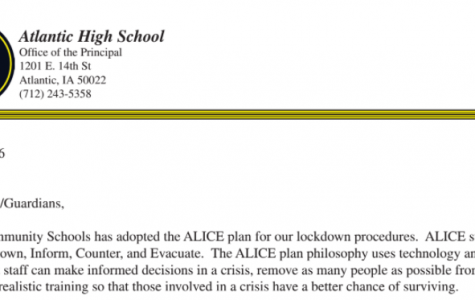 AHS to Take Part in ALICE Drill Tomorrow