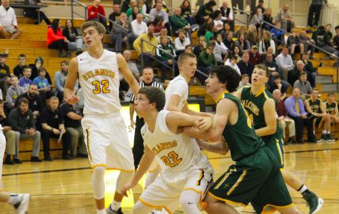 Boy's Basketball Defeats St. Albert Falcons