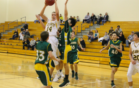 Freshmen Boys' Basketball Dominates the Panthers
