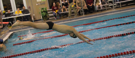 Boys' Swim Team Dominates Home Dual