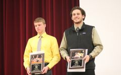 Wrestlers Receive Awards at 2016-17 Banquet