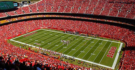 Dance Atlantic Perform at Chiefs Game