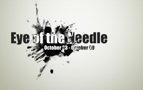 Eye of the Needle October, 23