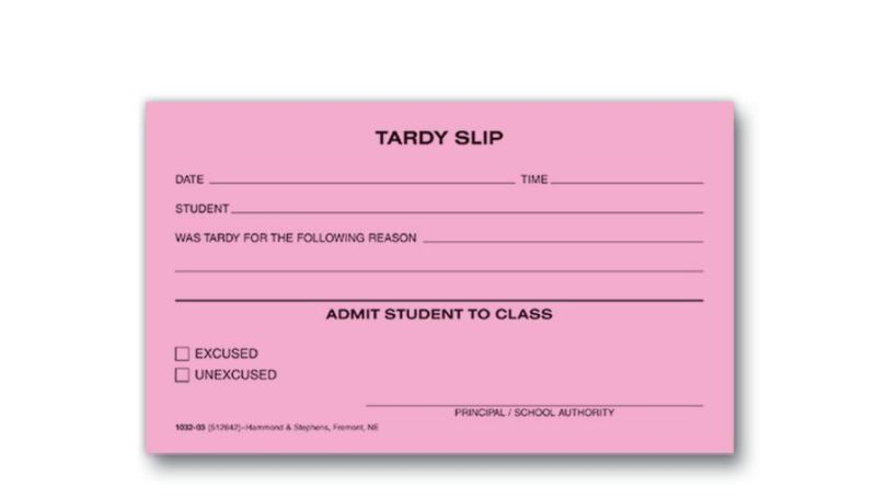 Whats The Deal With Tardies And Absences