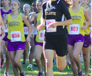 AHS Runner Places 38 Spots Better than Last Year!