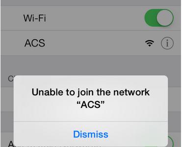 AHS WiFi Shut Down