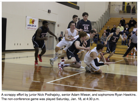 AHS Trojans vs. AL Lynx Jan. 18 – Photo Story
