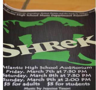Shrek the Musical Preparation