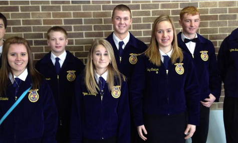 FFA Competes in District Competition