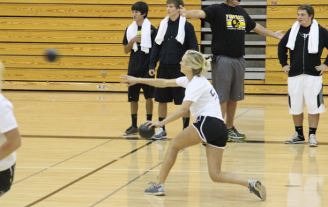 Homecoming Dodgeball Games Fly in the Air