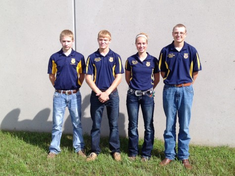 Atlantic FFA Attends State Livestock Judging