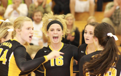 Volleyball Improves Against Denison