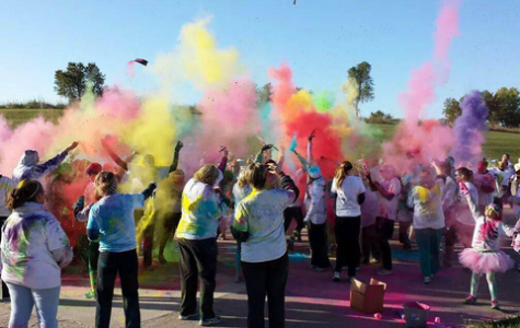 STUCO's First Color the Town Run a Success
