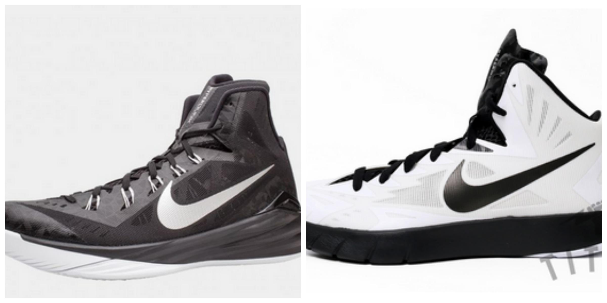 Picture to the left are the 2014-2015 girls basketball team shoe. They are