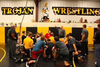 Trojan Wrestle Offs
