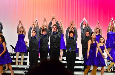 Show Choir and Jazz Band Kick Off Season