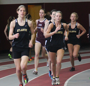 Girls Track at Central Results