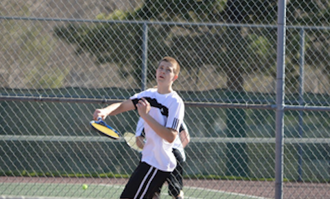 Boys Tennis Victory Against the Panthers