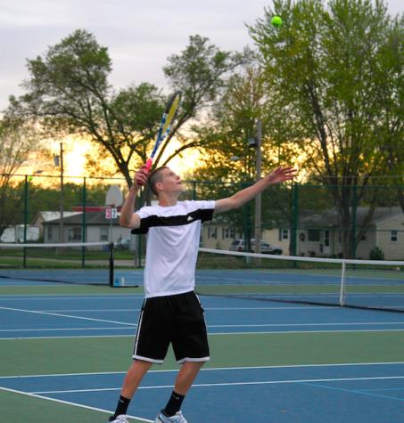 N. Podhajsky Places 2nd at Boys Tennis H-10 Tournament