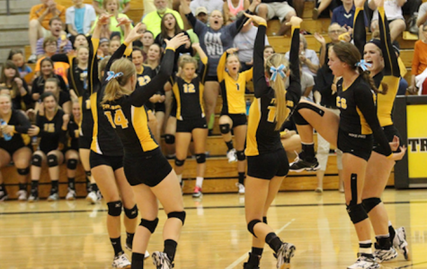 Trojan Volleyball Falls to Glenwood Rams
